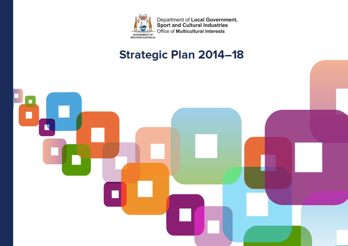 Office of Multicultural Interests Strategic Plan 2014–2018 cover