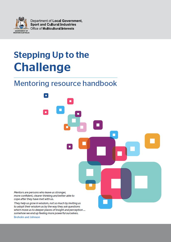Mentoring resource handbook cover