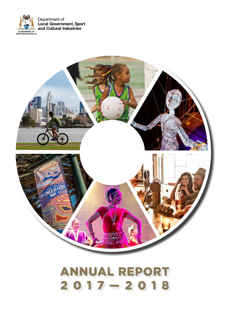 DLGSC Annual Report 2017-2018 cover